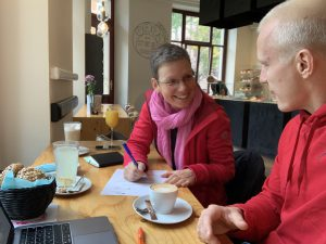 Renate Eichenberger bei Coaching Session